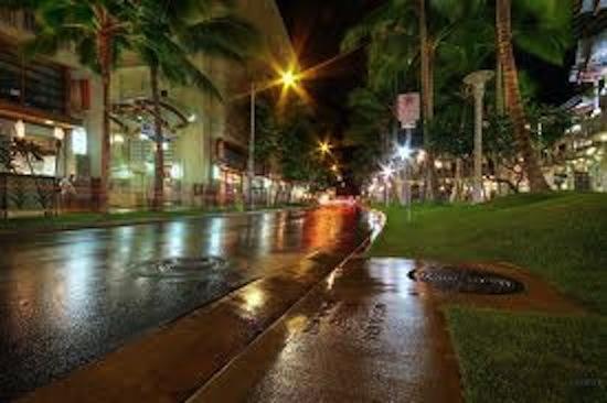 Royal Garden Lobby · Waikiki At Night