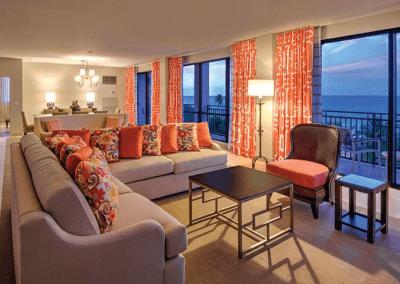 Rio Mar Living Room