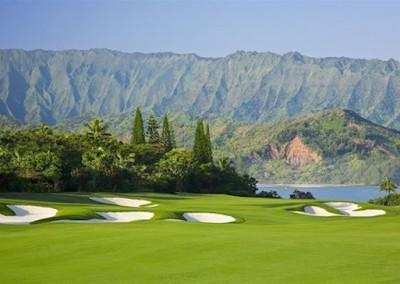 Makai Golf Course Mountain Green View