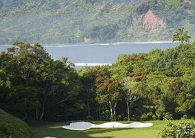Makai Golf Course Water Mountain View