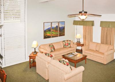Makai Club Cottage Living Room