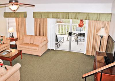 Cottage Aerial Living Room