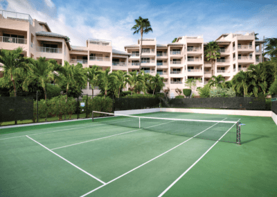 Elysian Beach Resort Tennis