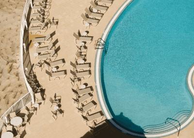 Panama City Pool Aerial