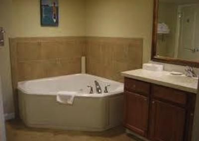 Jetted Tub Bathroom