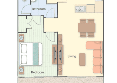 1B Presidential Floor Plan