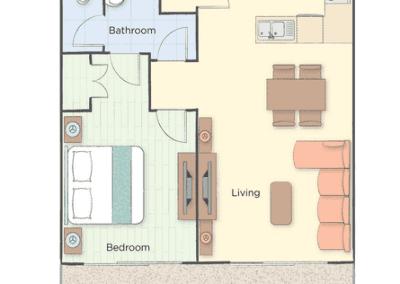 1B Presidential Floor Plan