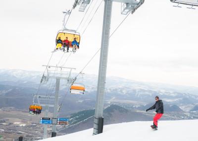 Park City chair lift