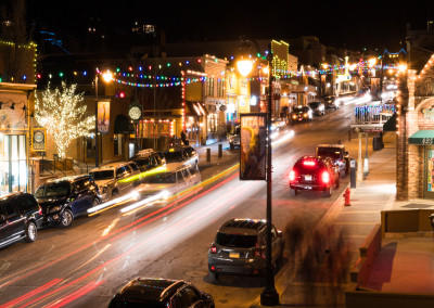 Park City street time lapse