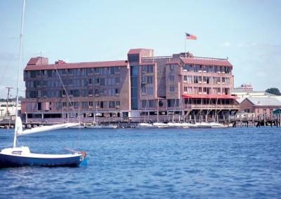 Inn on Long Wharf Exterior