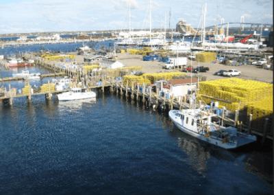 Inn on Long Wharf Aerial