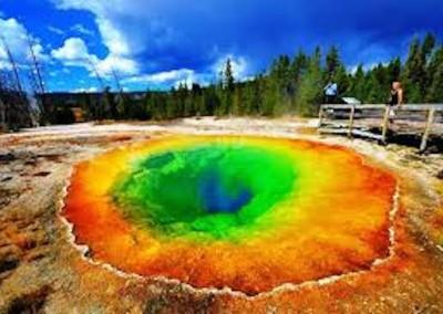 Yellowstone Blue Hole