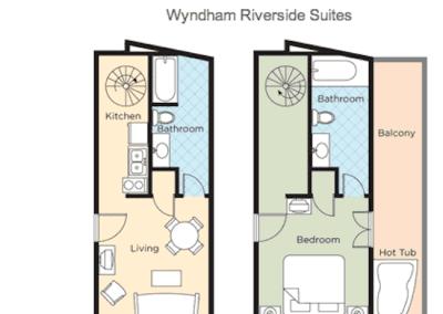Floor Plan 1B Plus Riverside