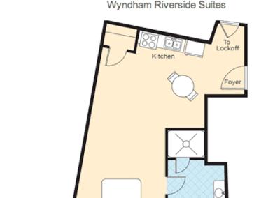 Floor Plan Riverside Studio
