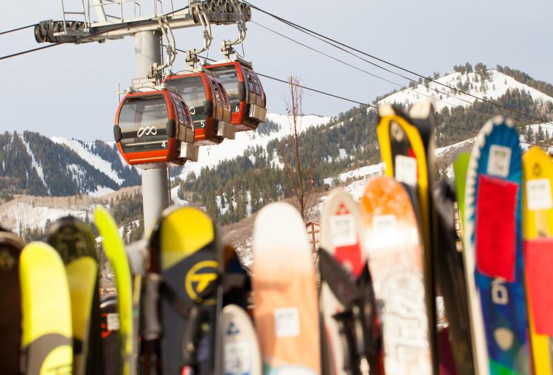Park City skis