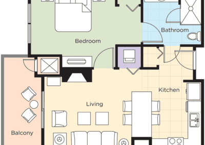 Park City 1B Floor Plan