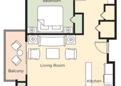 Park City 3B Floor Plan