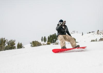 Park City snowboarding