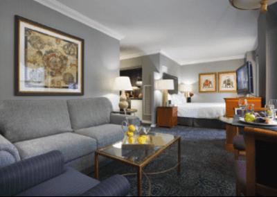 Manhattan Club Living Room