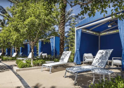 Desert Blue Cabanas