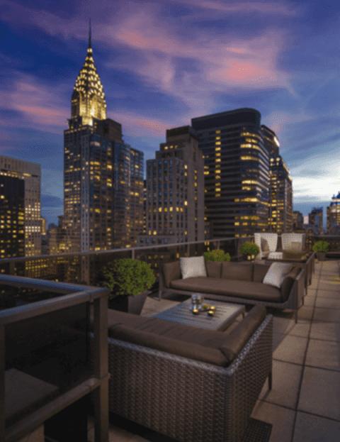 Midtown 45 Rooftop View