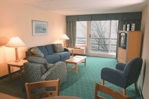 Inn on the Harbor Living Room