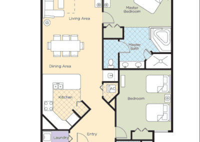 Star Island 2B Floor Plan
