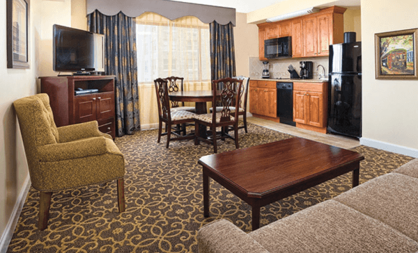 Avenue Plaza Living Room