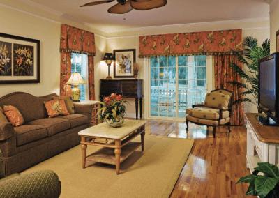 King Cotton Villas Living Room