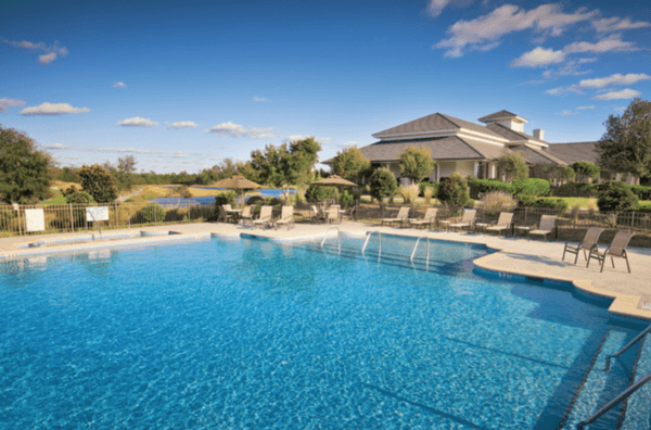 Dye Villas Poolside