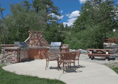 Estes Park Outdoor Seating