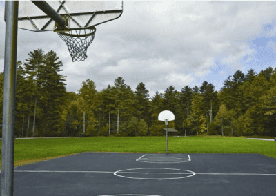 Sapphire Valley Basketball Court