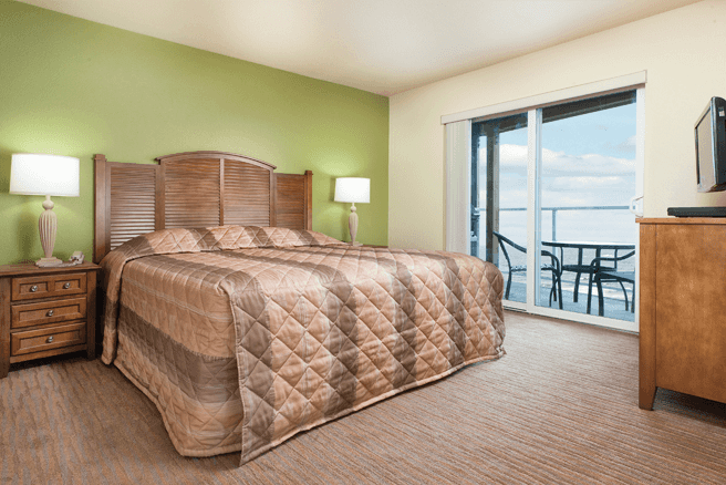 Depoe Bay Master Bedroom