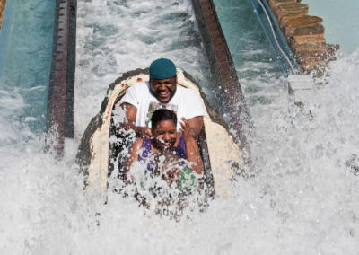 Six Flags Waterslide