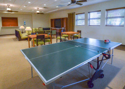 Ping Pong/Guest Area in Clubhouse