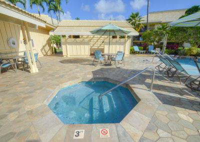 Pool/hot tub area
